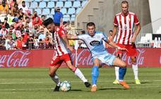 Las imágenes del empate entre la UD Almería y el CD Lugo