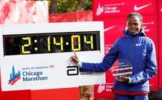 La keniana Kosgei bate el récord mundial de Radcliffe en el maratón de Chicago