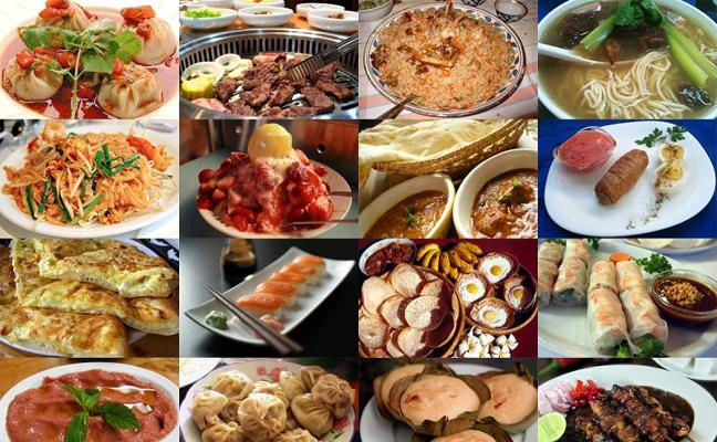 La mejor comida internacional de Granada