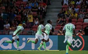 Azeez, recambio de Nigeria ante Brasil