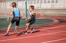 Las mejores imágenes de cómo 'entrenan' los niños del Atarfe Tribabyschool