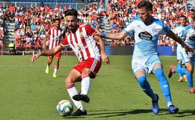 El 0-0 con el Lugo da a entender que el Almería se 'desinfla'