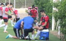 El Almería no recupera jugadores