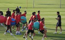 El entrenamiento del Granada CF, en imágenes