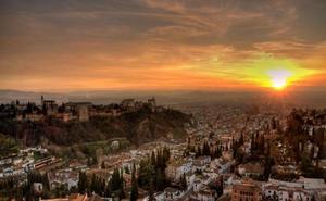 Granada se convierte de nuevo en el 'Mejor Atardecer de España'