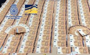 Así inundaban España de billetes falsos de 50 euros: la Policía los ha cazado