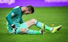 De Gea sale lesionado en su retorno a la titularidad
