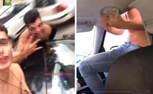 Detenido por colgar en Instagram un vídeo conduciendo con una mano y sacando el cuerpo por la ventanilla