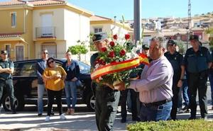 Emotivo homenaje de Granada a José Manuel, el guardia civil asesinado hace un año