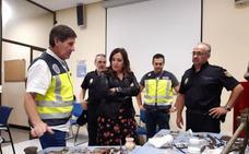 Tres detenidos por expoliar 2000 piezas de yacimientos de Jaén, ya recuperadas