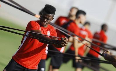 Ramon Azeez ya se encuentra entrenando con el Granada
