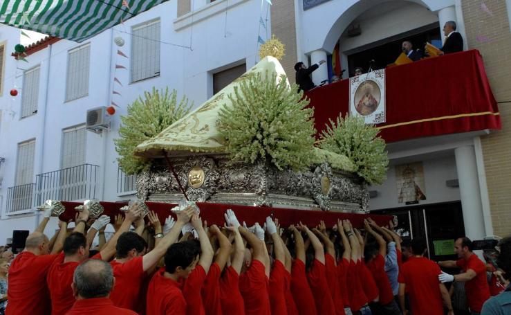 La patrona de Ugíjar y de La Alpujarra vuelve a ser procesionada como ocurre desde hace 413 años