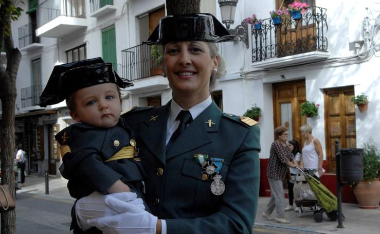 La Guardia Civil de Lanjarón celebra la festividad de su patrona la Virgen del Pilar