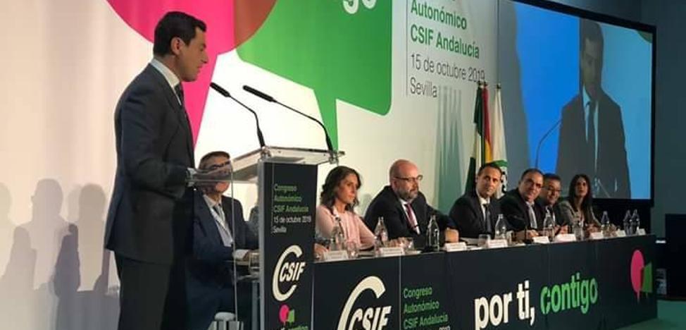El granadino Germán Girela es elegido nuevo presidente del sindicato CSIF en Andalucía