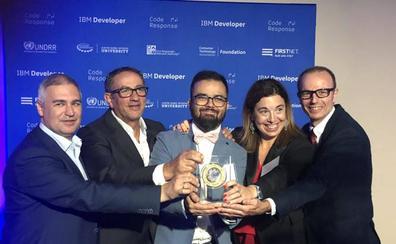 Un 'alumni' de la Universidad de Granada gana con súper sensor un prestigioso premio de la ONU