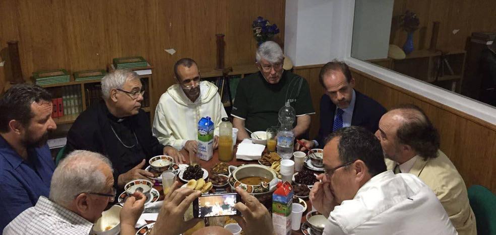 «Tengo buena relación con el arzobispo y hablamos porque nos preocupaba el tema de la sequía»
