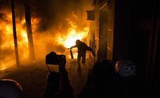 Noche de terror en las calles de Barcelona