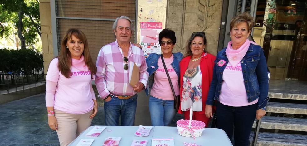 Lazos rosas para prevenir el cáncer de mama
