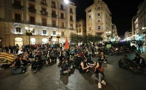 La Subdelegación, a la espera del informe policial para abrir expediente a los organizadores de la manifestación contra la sentencia del 'procés' en Granada