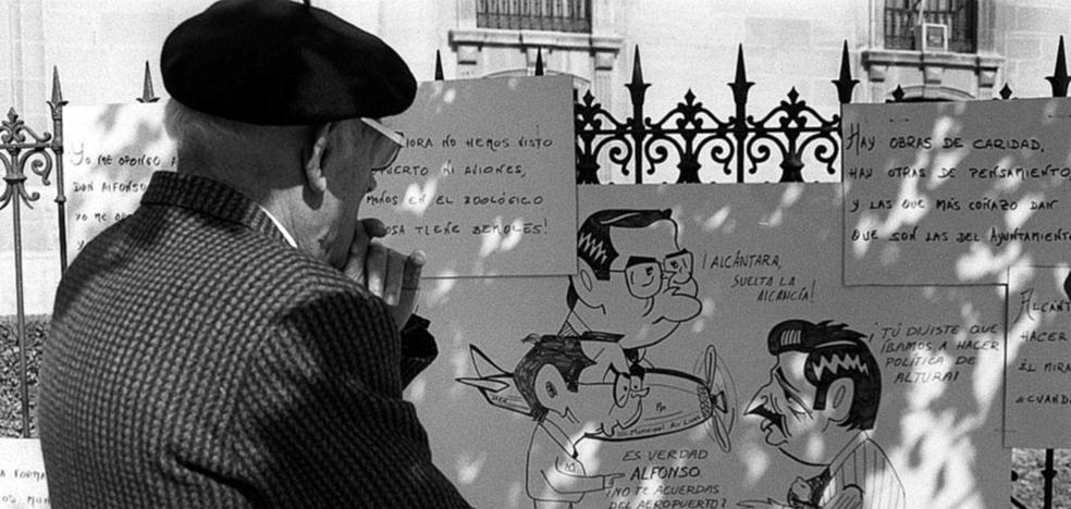 La historia de una ciudad, a través de sus caricaturas