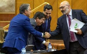 Vox pacta con el PP y Ciudadanos los presupuestos andaluces de 2020