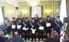 La Policía Local de Granada celebra su patrón, el Ángel Custodio y condecora a sus héroes