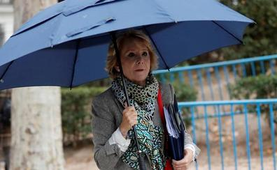 Esperanza Aguirre responde ante el juez por la financiación ilegal del PP