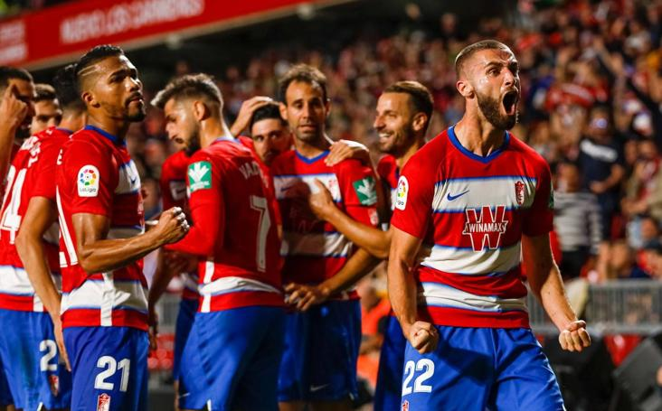 Las imágenes del partido Granada-Osasuna