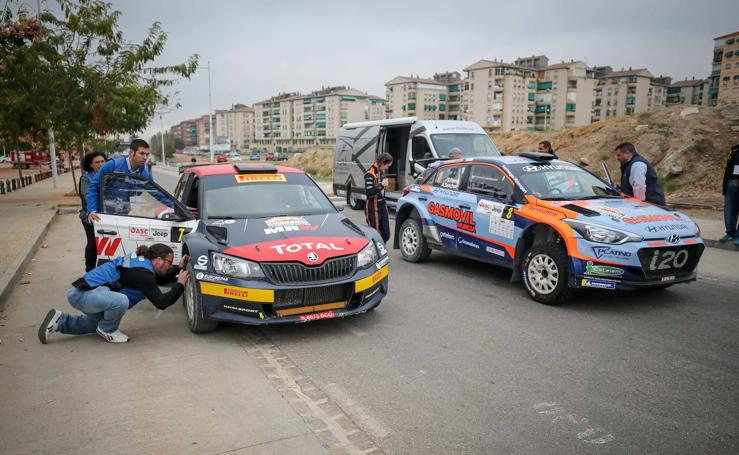 Los cochazos del Rally Ciudad de Granada toman posiciones