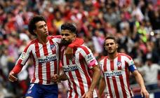 Las mejores imágenes del Atlético-Valencia