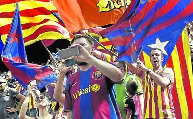 El Barça y el Espanyol, dos formas distintas de ver el 'procés'