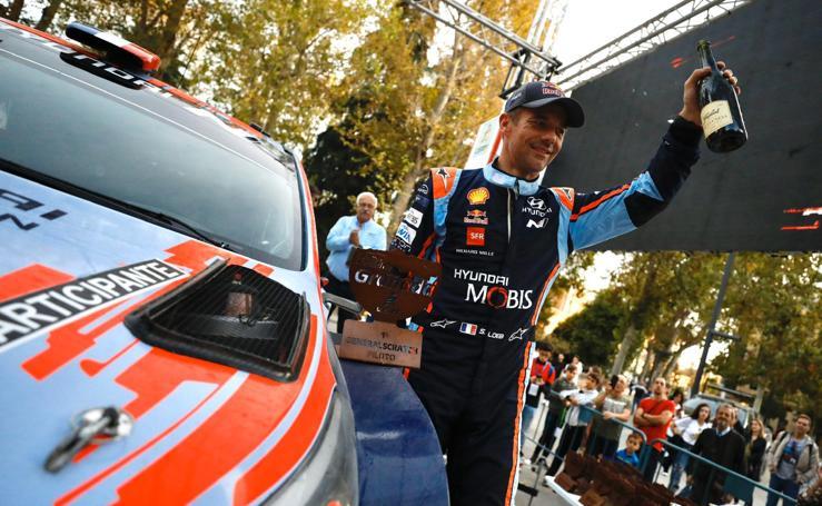 El espectáculo sobre ruedas del Rally Ciudad de Granada a pie de carretera
