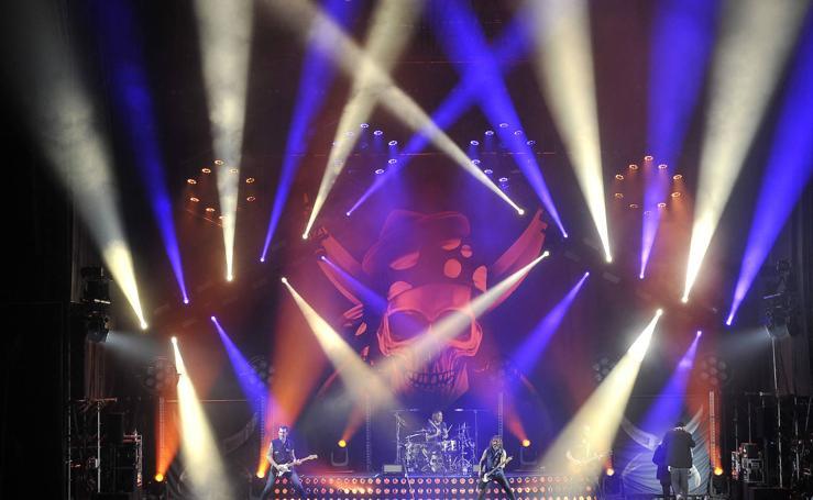 Rotundo éxito de Marea en su concierto en Granada