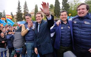La campaña del 10N en Granada: pasarela de líderes nacionales