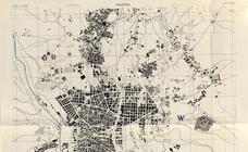 24 mapas de las capitales españolas elaborados por los aliados si Hitler invadía España