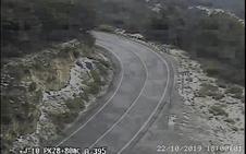 Obligatorio uso de cadenas en el acceso a Sierra Nevada