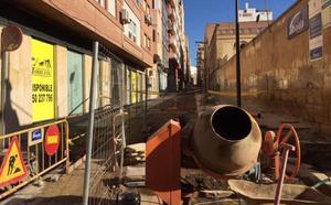 Las obras de adecuación y mejora de la calle San Leonardo se retrasan hasta final de mes