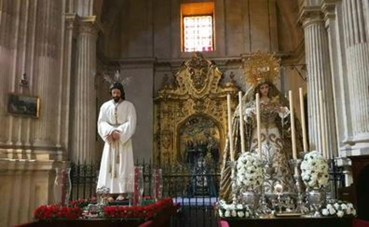 Las obras de Antonio Dubé de Luque en la Semana Santa de Granada