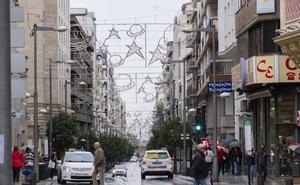Ya hay fecha para el alumbrado de Navidad en Granada: 9 calles estrenarán decoración
