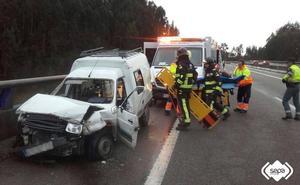Tráfico alerta del aumento de los fallecidos en los accidentes de furgonetas