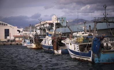 El aviso naranja por viento deja a la flota de Motril amarrada en el puerto