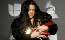 Rosalía reina en los Grammy Latinos