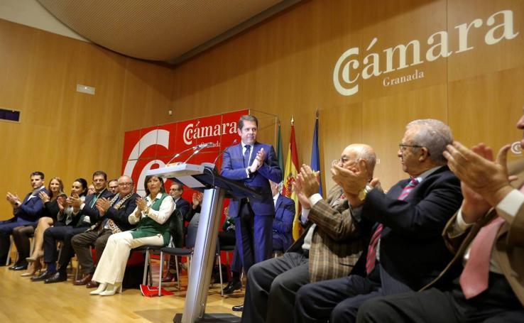 Gerardo Cuerva toma posesión como presidente de la Cámara de Comercio de Granada