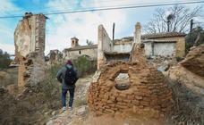 Así está ahora la aldea abandonada de Tablate