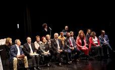 Homaneja a los concejales de la democracia en el Ayuntamiento de Salobreña
