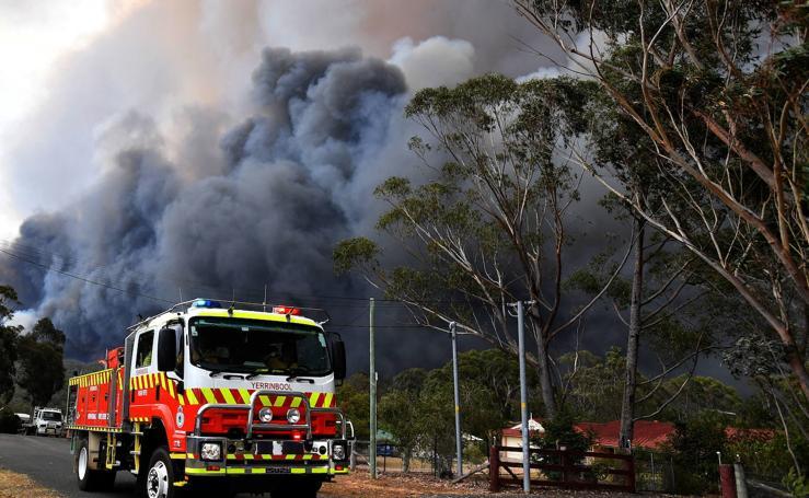 Los incendios en Australia, en imágenes