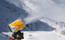 La producción de nieve en Sierra Nevada mira al futuro