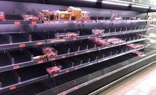 Problemas de abastecimiento en Mercadona en Granada por la nieve