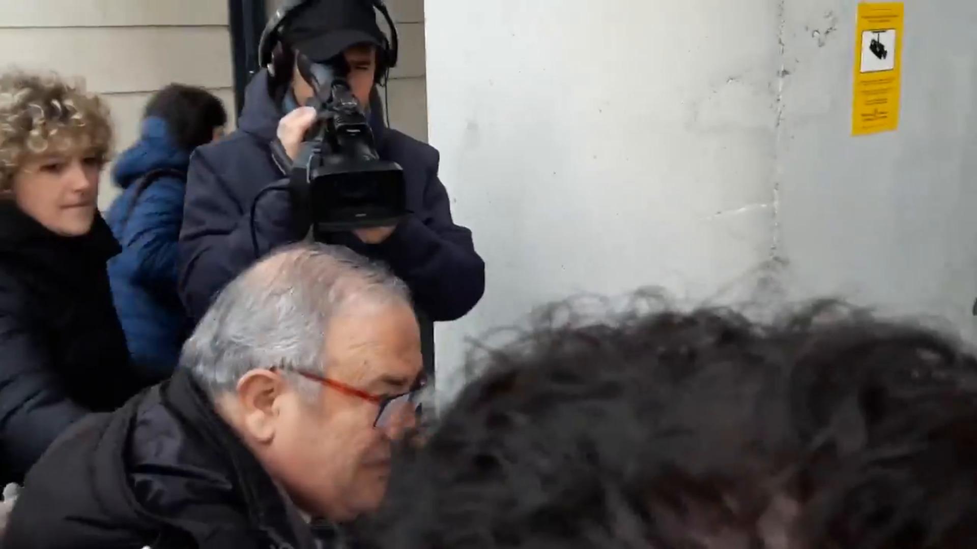 """El presidente de Osasuna, antes de declarar como testigo: """"No tenemos nada que temer"""""""