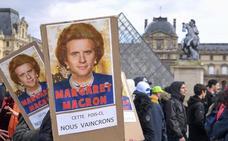 La batalla por la reforma de las pensiones de Macron pasa de la calle al parlamento